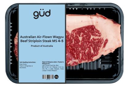 Australian Air-Flown Marble 4/5 Wagyu Beef Striploin Steak 200g (Chilled)