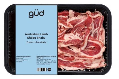 Australian Lamb Shabu Shabu 100g (Frozen)