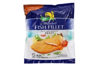 KLFC Breaded Fish Fillet 4pcs