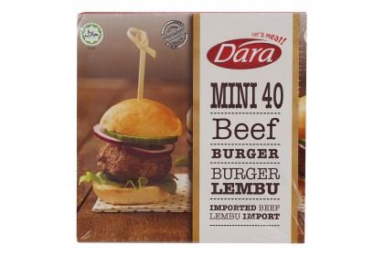 Dara Mini Beef Burger 40g