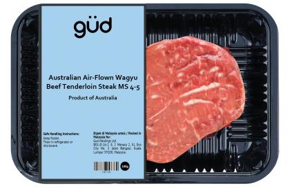 Australian Air-Flown Wagyu Beef Tenderloin Steak MS 4-5 (Chilled)