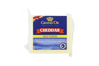 Grand'Or White Cheddar 200gm